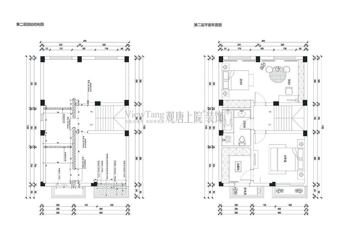 景瑞望府150㎡户型设计图