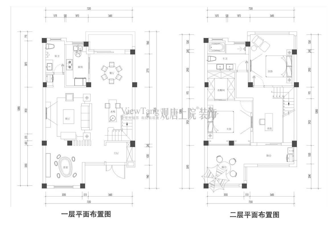 碧桂园玲珑湾121平户型解析,平面布置图