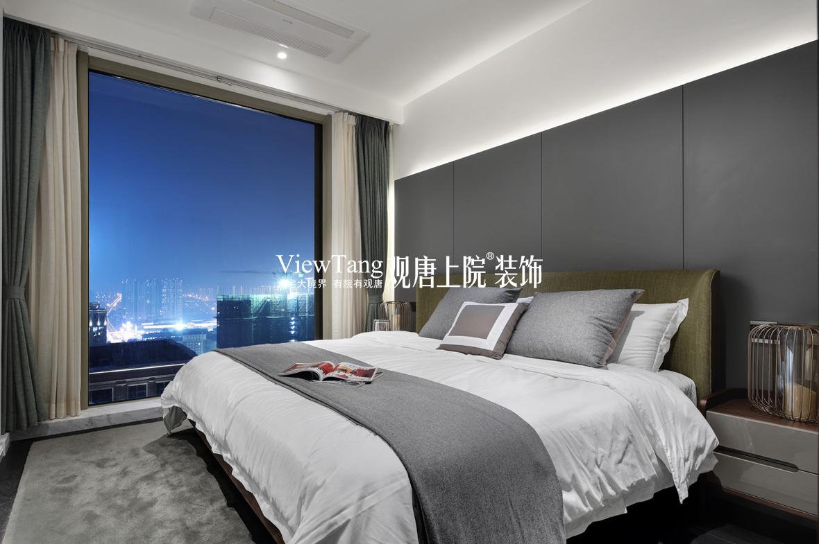 卧室现代简约效果图