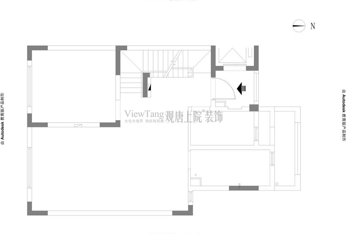 万科氿麓城四楼原始图